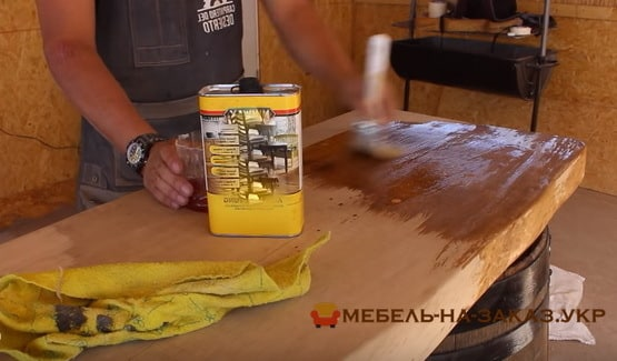 покраска деревянной мебели на заказ