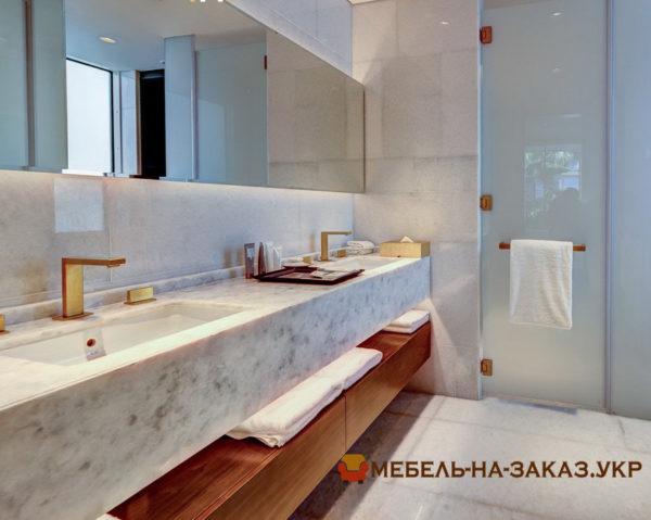 фотографии мебели для ванной под заказ