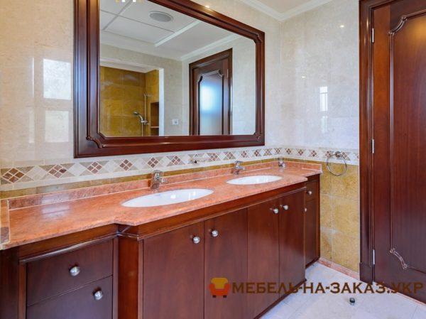 Мебель для ванной комнаты под заказ Киев