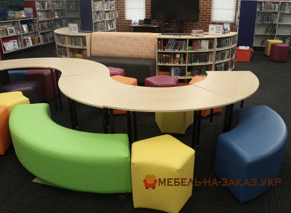 модульные столы полукруглые на заказ