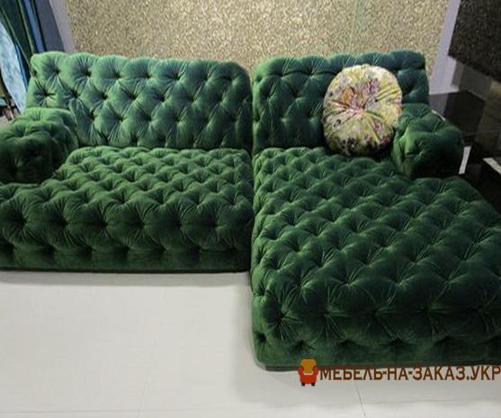 заказать изготовление прямого дивана