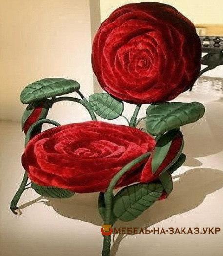 кресло цветок на заказ Киев