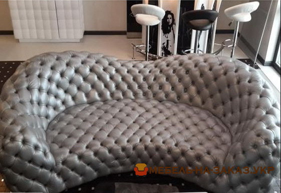 варианты необычной мягкой мебели на заказ