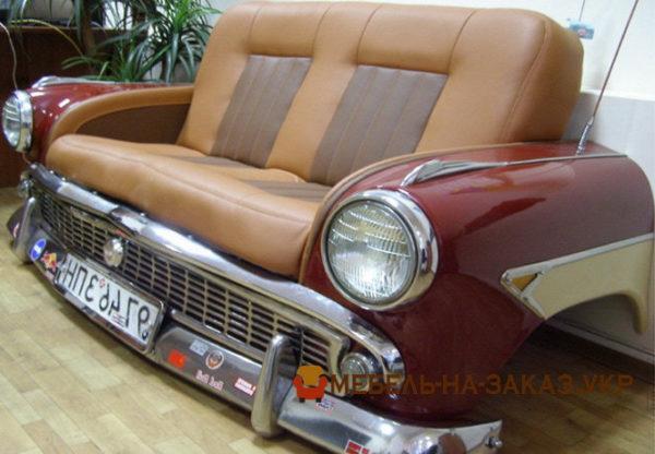 диван из автомобиля москвич на заказ