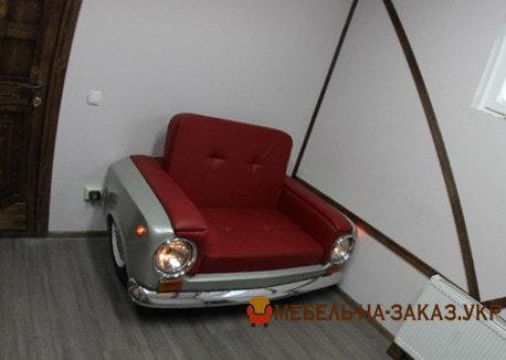 диван из автомобиля Жигуль