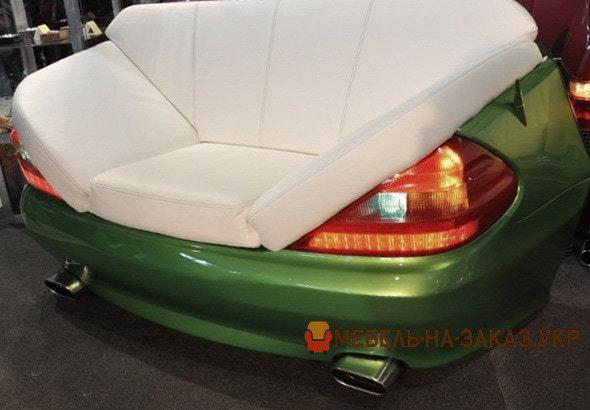 диваны из автомобильных сидений