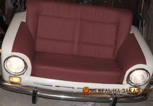 диваны из автомобильных сидений на заказ