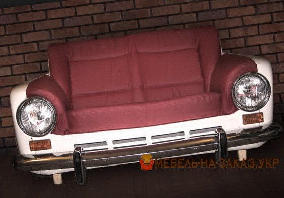 Автомебель - мебель из автомобильных сидений и запчастей