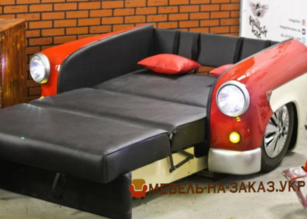 диван из задних сидений авто   под заказ