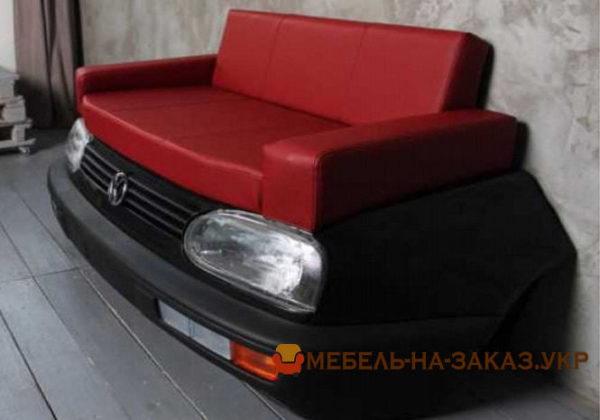 диваны в виде авто под заказ для салона