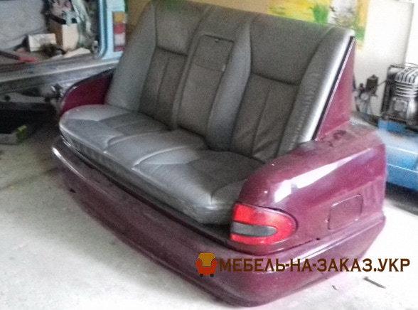 диваны в виде авто под заказ для офиса