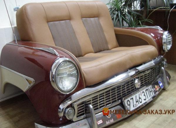 изготовление мягкой мебели для ресторана из автомобиля под заказ