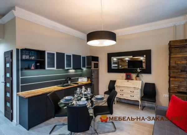 прмая кухонная мебель в элитную квартиру на заказ Киев