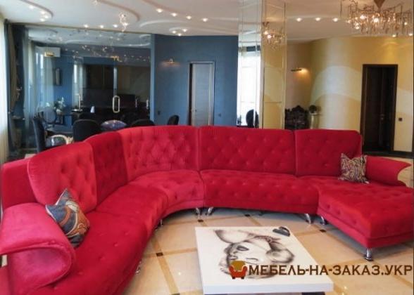 изготовление угловой мягкой мебели Москва
