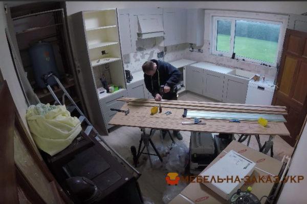 устанвка кухни в Буе