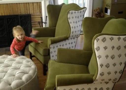 Креслы и пуфы