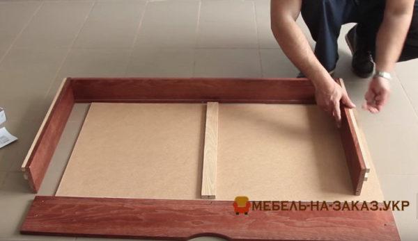 сборка детской кровати с ящиком