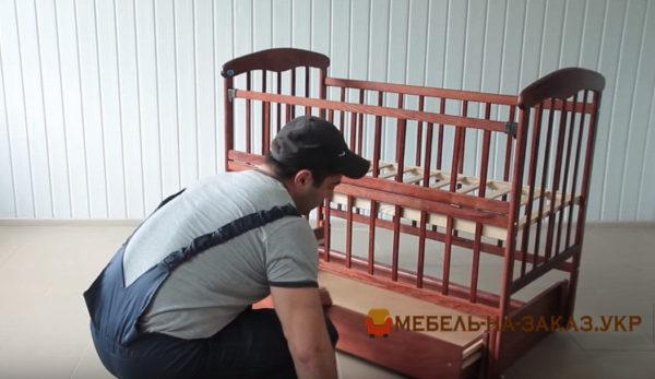 заказать сборку детской кроватки
