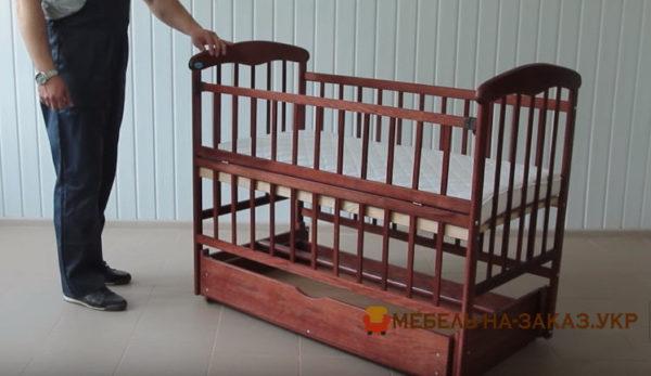 заказать сборку детской кроватки трансформер