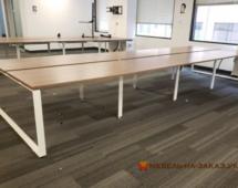 офисные столы для нескольких сотрудников