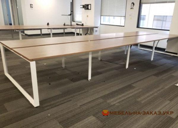 офисные столы для нескольких сотрудников на заказ
