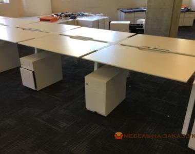 офисные столы для нескольких сотрудников под заказ в Киеве