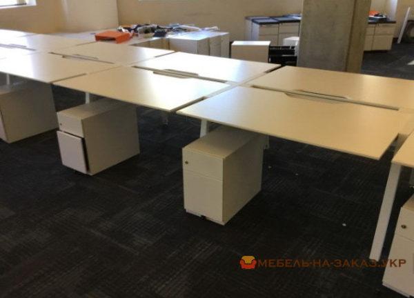 офисные столы для нескольких сотрудников под заказ Украина