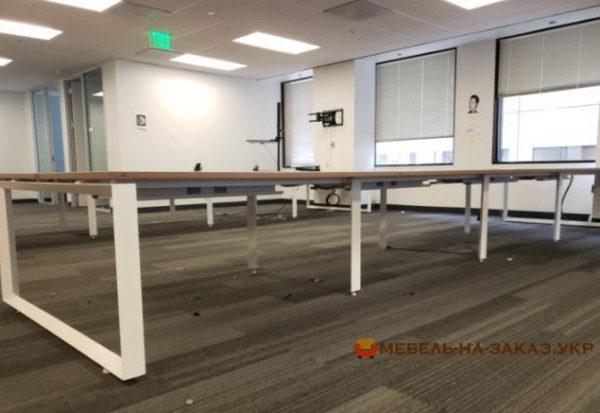 офисные столы для двух сотрудников под заказ