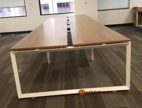 офисная мебель для четирех сотрудников