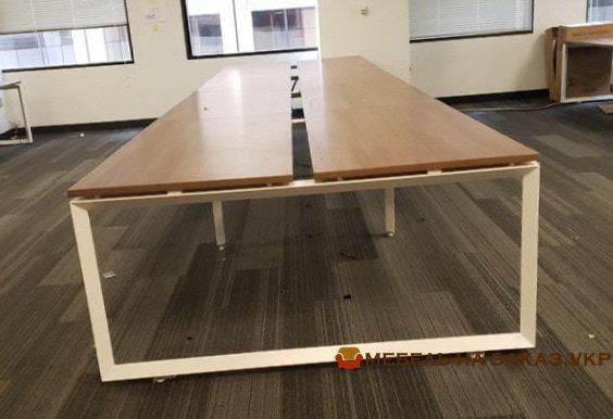 офисная мебель для четирех сотрудников под заказ