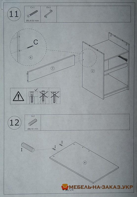 стоимость сборки мебели Икеа в Ирпень