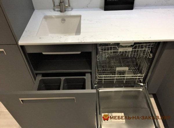 органайзер серой кухни