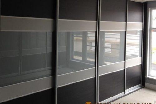 дизайн проект шкафа-купе в гостинную Украина