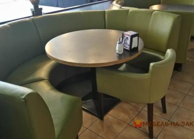 дизайн диванов для кафе