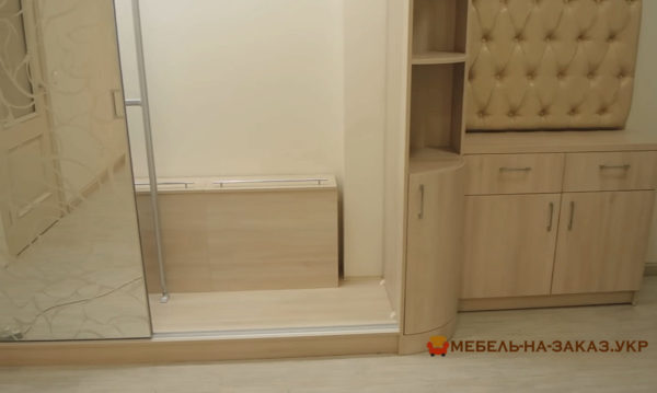 шкаф с пескорструйной печатью