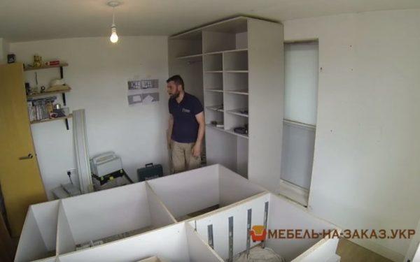 изготовление шкафа-купе в спальню под заказ Украина
