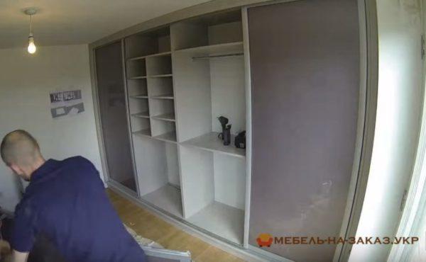 заказать шкаф-купе в спальню Соломенский район