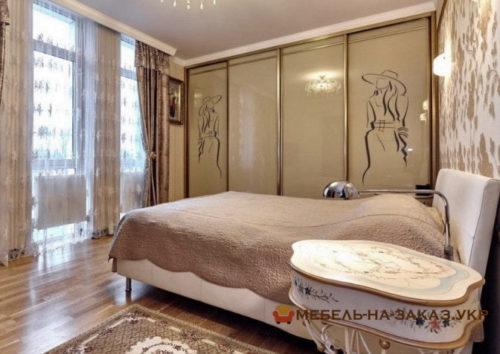 элитный шкаф купе для спальи под заказ Киев