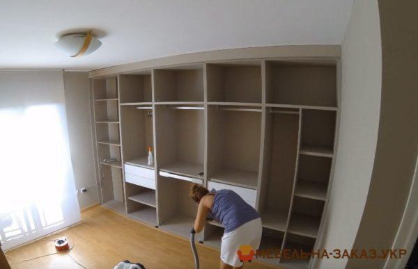 шкафы для спальни на заказ Конча заспа