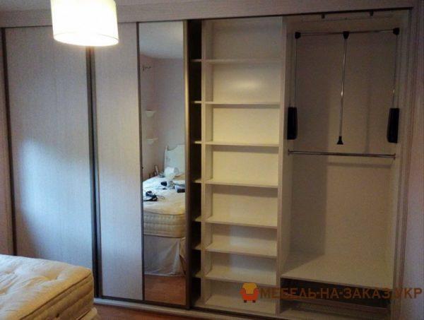 изготовление шкафов в гостиную под заказ Бровары