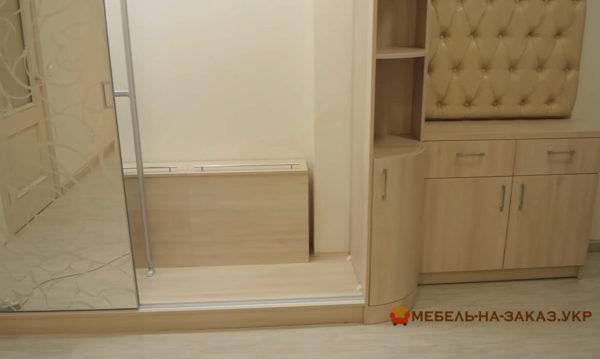 элитный шкаф-купе в коридор