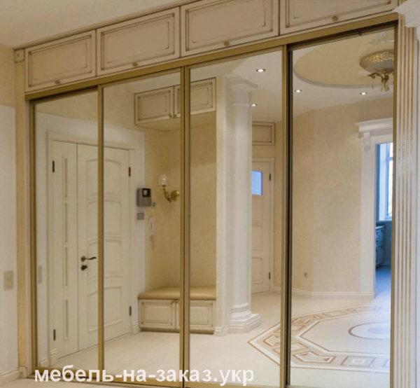 встроенный шкаф купе в коридор