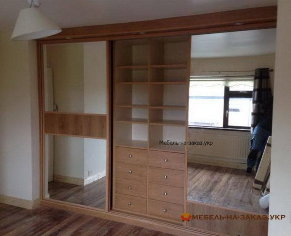 мебель с зеркальными дверями