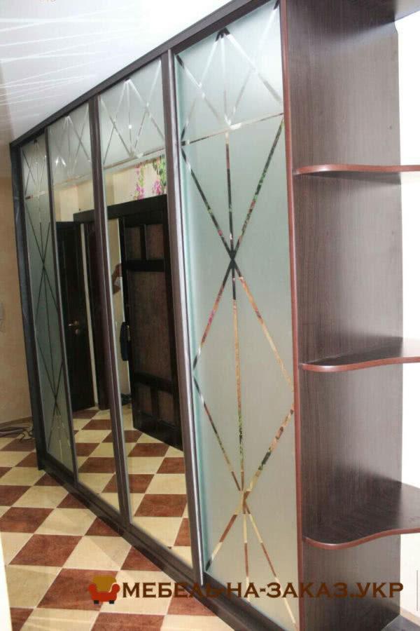 зеркальный шкаф в коридор
