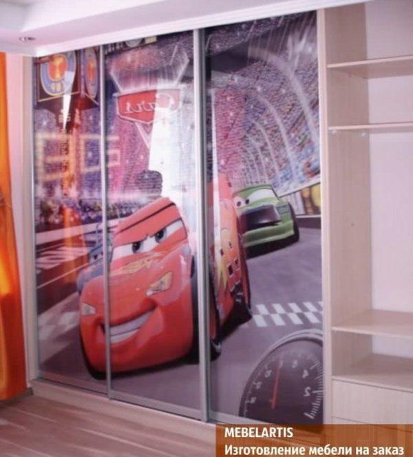 изготовление шкафов купе для детей на заказ Новые Петровцы