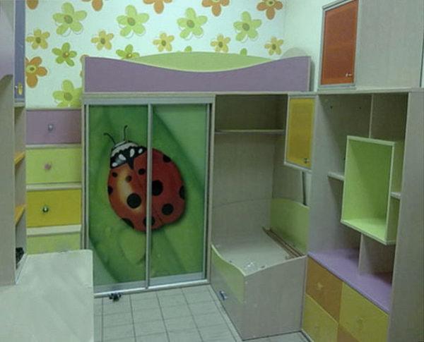 детский шкаф-купе на заказ в Киеве