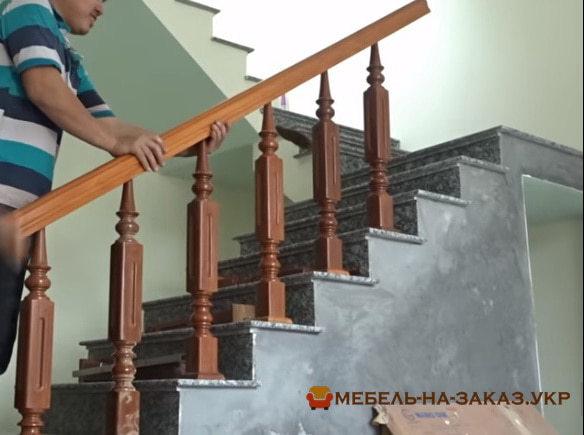цвет лестницы в интерьере