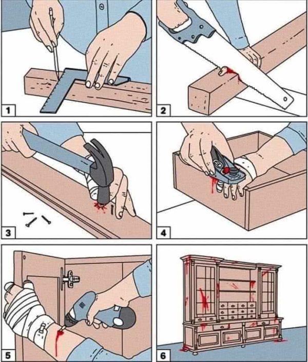 мебельные приколы