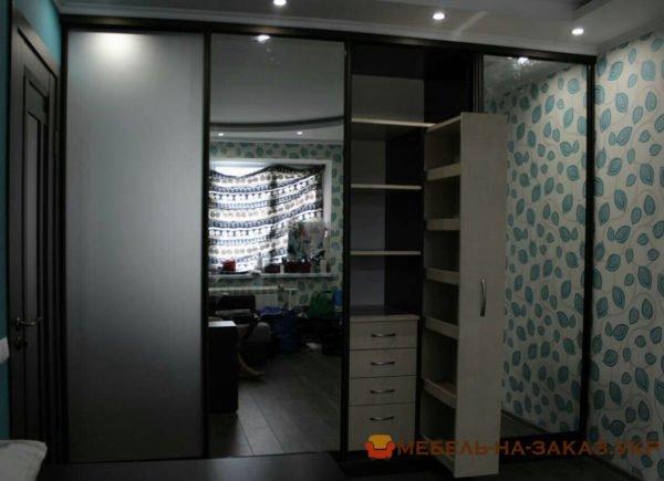 изготовление шкафа-купе в офис на заказ