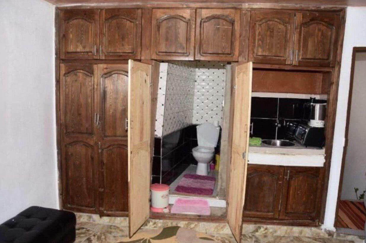 скрытый туалет прикол